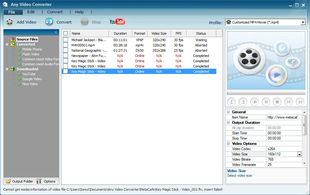 any video converter licence key free