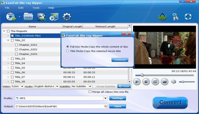 EaseFab Blu-ray Ripper for Windows