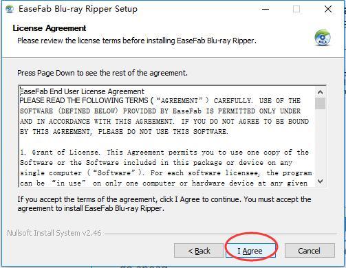 easefab blu-ray ripper registration code