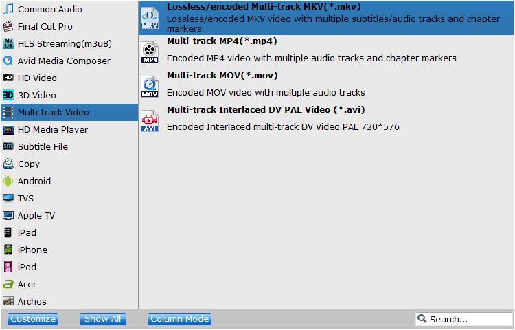 How to Convert DVD to MKV with Multiple Audio & Subtitle Streams