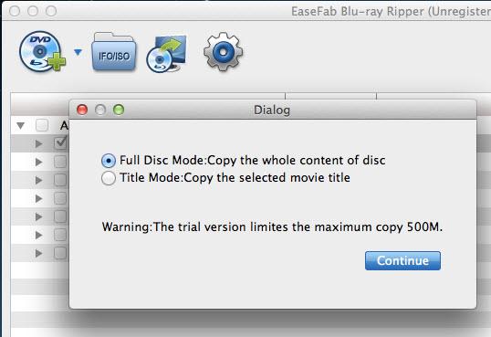 Disc Backup