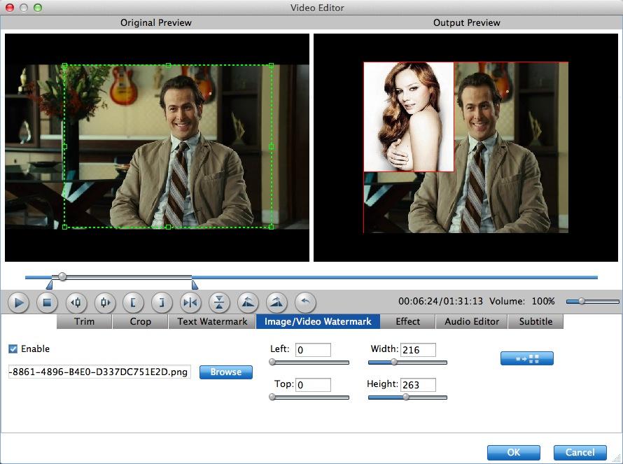 images video watermark