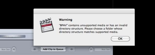 How to Convert BPAV Files for Editing in Final Cut Pro