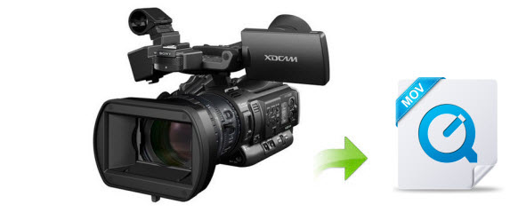 Convert/Transfer Sony XDCAM footage to QuickTime MOV on Mac