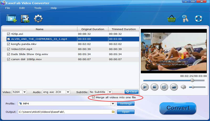EaseFab Video Converter: Easily Convert Videos to Any Format
