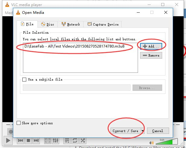 How to Easily Convert an M3U8 file to an MP4 with VLC for Free