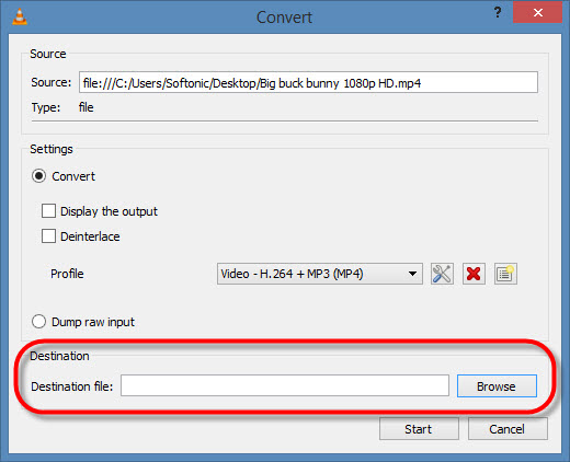 How to Convert MKV files to MP4 files with VLC